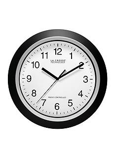 LaCrosse Technology 12-in. Atomic Analog Wall Clock