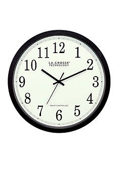 LaCrosse Technology 14-in. Atomic Analog Wall Clock - Online Only <br>