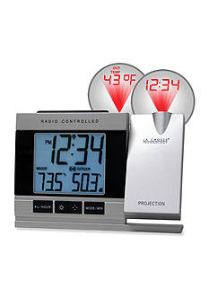 LaCrosse Technology Projection Digital Alarm Clock with Temperature