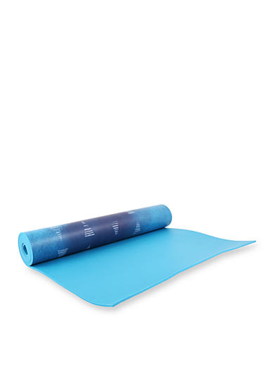 Tula Athletica™ Yoga Mat 5mm - Teal Triangles