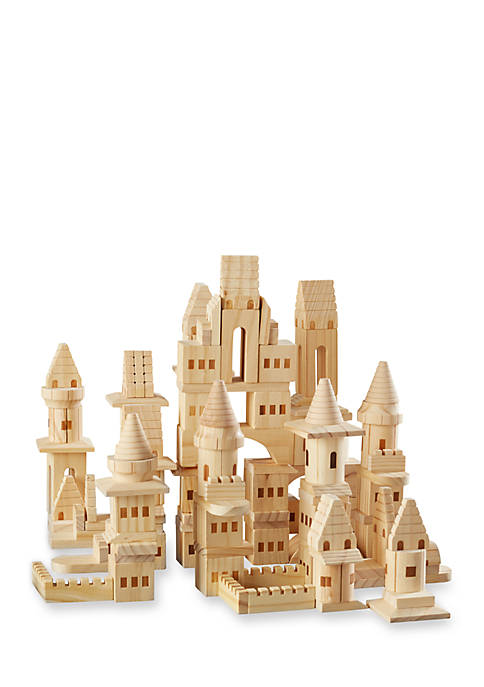Fao Schwarz Wood Castle Block Set Belk