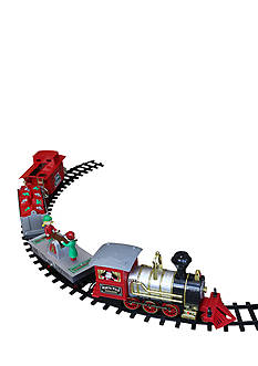 Blue Hat Toy Company Holiday Train Set