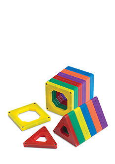 Discovery Kids 24- Piece Set Magnetic Tile Set - Online Only