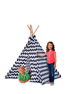 Discovery Kids Tee Pee Canvas Tent