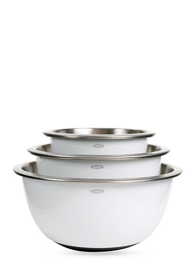 OXO 3-Piece Mixing Bowl Set