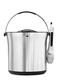 Oxo Ice Bucket and Tong