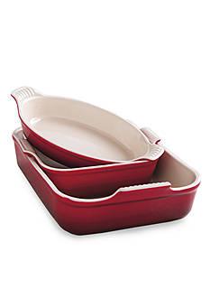 Le Creuset 3-Piece Heritage Bakeware Set