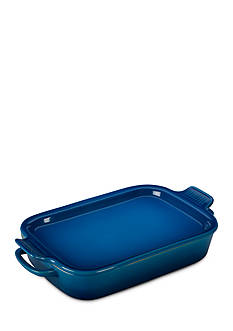 Le Creuset 14.75-in. Rectangular Dish with Platter Lid