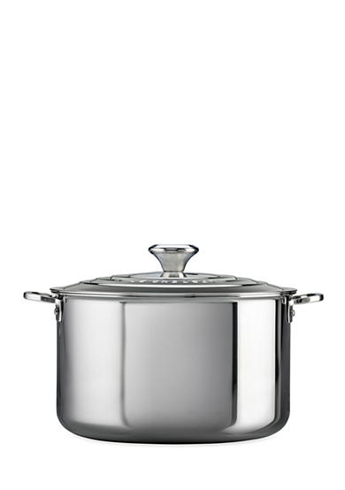 Le Creuset 7-qt. Stainless Steel Stock Pot with Lid