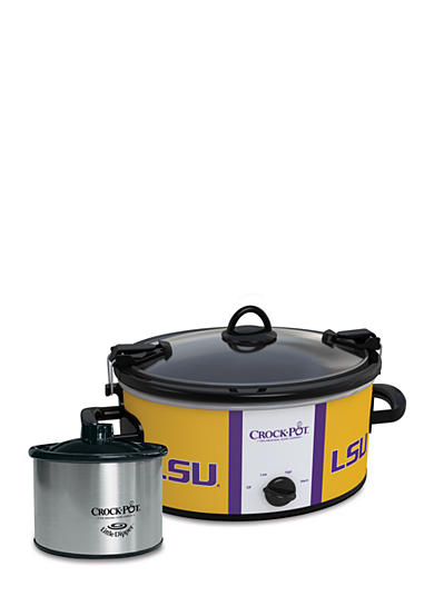 CrockPot Louisiana State University CrockPot Slow Cooker with Lil Dipper