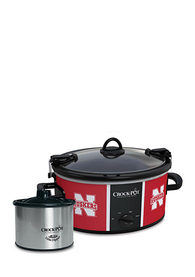 CrockPot University of Nebraska CrockPot Slow Cooker with Lil Dipper