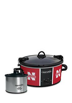 University of Nebraska CrockPot Slow Cooker with Lil Dipper