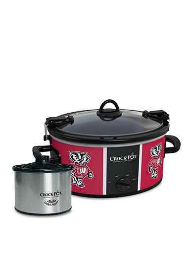 CrockPot University of Wisconsin Slow Cooker with Lil Dipper