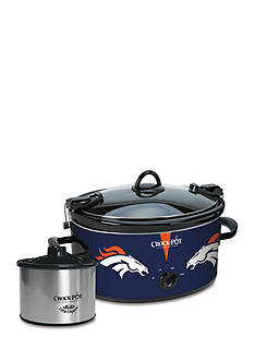 Jarden Electrics Denver Broncos Crock-Pot Slow Cooker with Lil Dipper