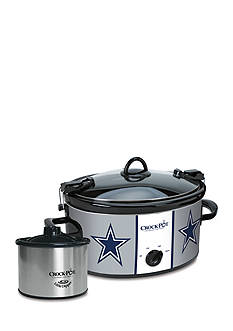 Jarden Electrics Dallas Cowboys CrockPot Slow Cooker with Lil Dipper