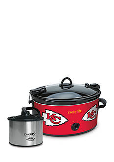 Jarden Electrics Kansas City Chiefs Crock-Pot Slow Cooker with Lil Dipper