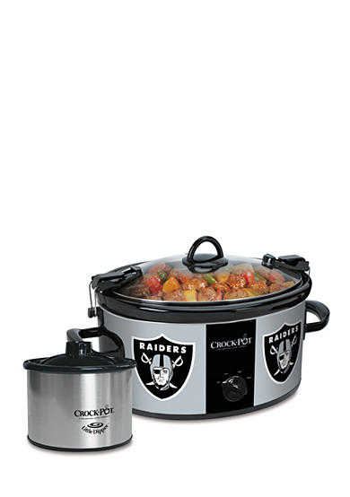 Jarden Electrics Oakland Raiders CrockPot Slow Cooker with Lil Dipper