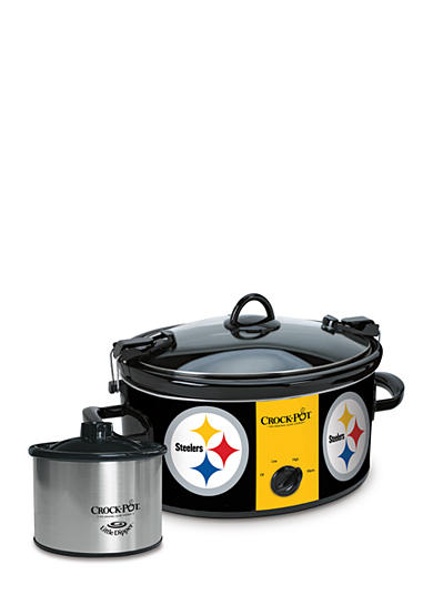 Jarden Electrics Pittsburgh Steelers Crock-Pot Slow Cooker with Lil Dipper