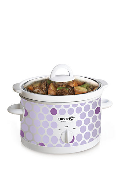 CrockPot Purple Polka Dot CrockPot SCR252POLKA