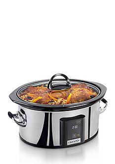 CrockPot 6.5-Qt. Programmable Touchscreen Slow Cooker SCVT650PS - Online Only