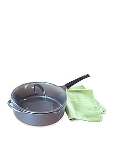 Nordic Ware Nonstick Aluminum Pro Cast 12-in. Jumbo Fryer with Lid