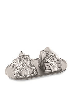 Nordic Ware Gingerbread House Duet Pan