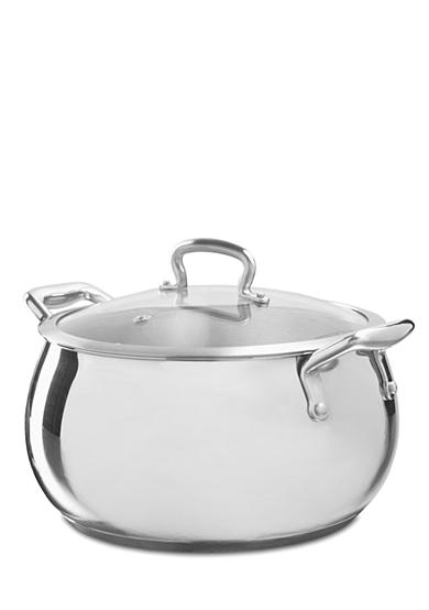 Biltmore For Your Home Professional Chef Series 6.8-qt. Belly Shaped Stainless Steel Stock Pot
