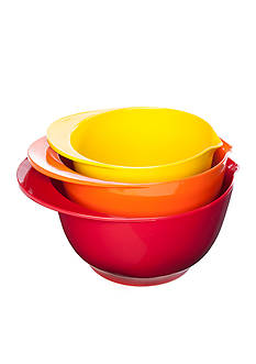 Cooks Tools™ Set of 3 Mixing Bowls