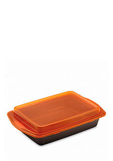 Rachael Ray 9-in. x 13-in. Nonstick Covered Cake Pan