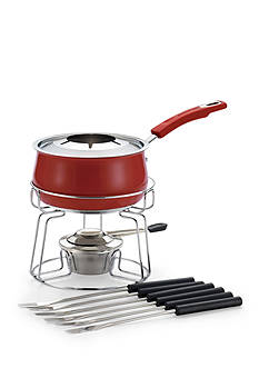 Rachael Ray Stainless Steel 2-Quart Fondue Set