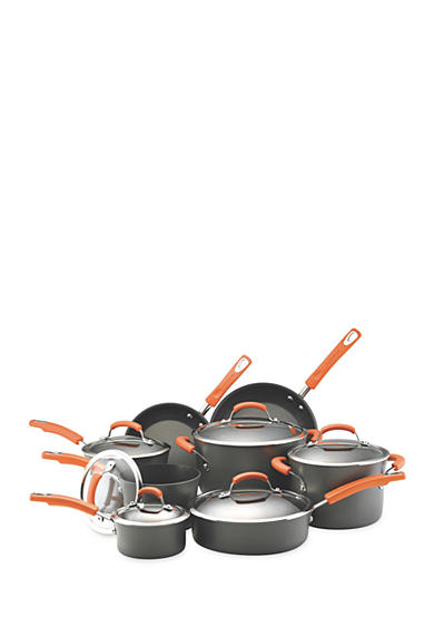 Rachael Ray 14-Piece Non-stick Aluminum Cookware Set