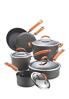 Rachael Ray Hard-Anodized Nonstick 10-Piece Cookware Set - Online Only