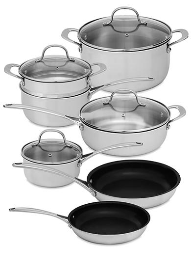 Tri Ply 11-Piece Cookware Set