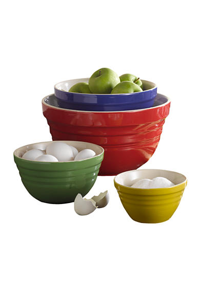 Cooks Tools™ Classic 4-Piece Mixing Bowl Set