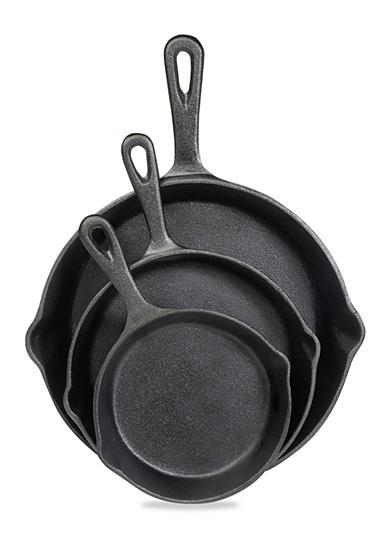 Cooks Tools Cast Iron 3 Piece Fry Pan Set Belk