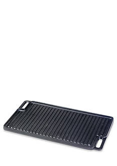 Cooks Tools™ Cast Iron Double Burner Reversible Grill
