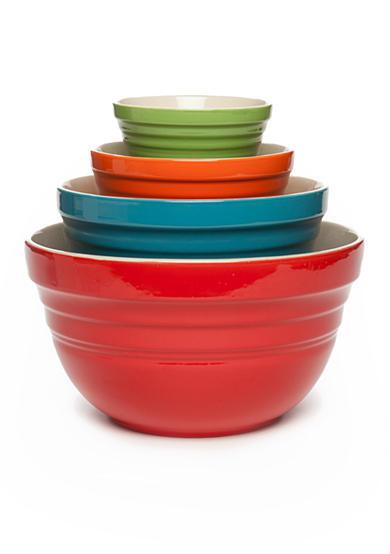 cooks tools 4 piece ceramic mixing bowls belk. Black Bedroom Furniture Sets. Home Design Ideas