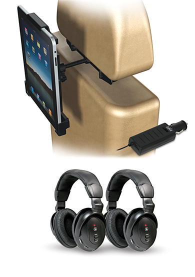 Innovative Technology iPad In-Car Entertainment System