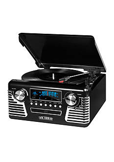 Victrola '50s Retro Record Player With Bluetooth And CD