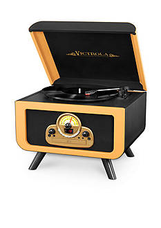 Victrola Tabletop Record Player With Bluetooth And CD
