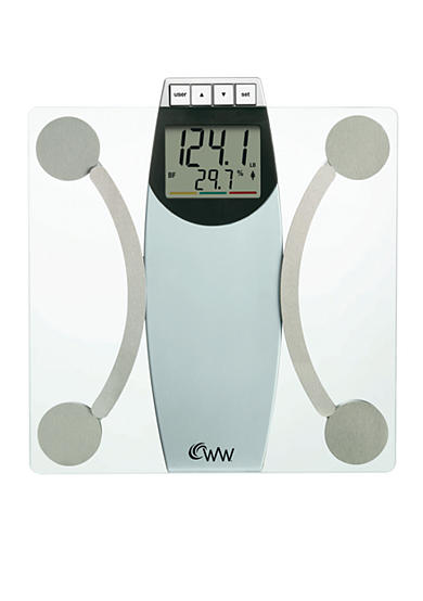 Weight Watchers® Glass Body Analysis Scale #WW67T