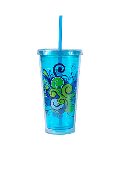 Cool Gear Blue Print Chiller 24-oz. Tumbler - Online Only<br>