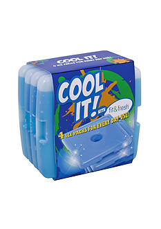 Fit & Fresh Cool Coolers Ice Packs Set Of 4
