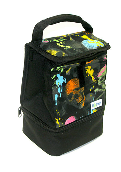 Fit & Fresh Austin Chiller Skulls Lunch Bag