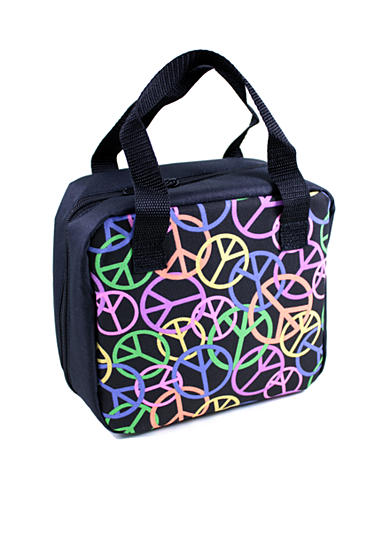 Fit & Fresh Jayden Chiller Colored Peace Lunch Bag