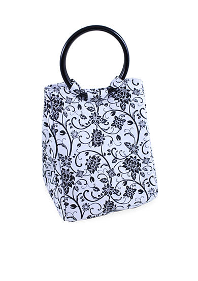 Fit & Fresh Lauren Chiller Ebony Floral Lunch Bag