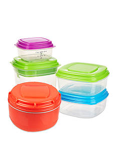 Fit & Fresh Healthy Living Lunch Container Value Kit