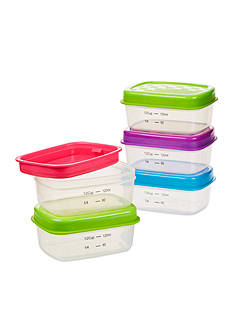 Fit & Fresh Healthy Living 0.5-Cup Portion Control Container Set