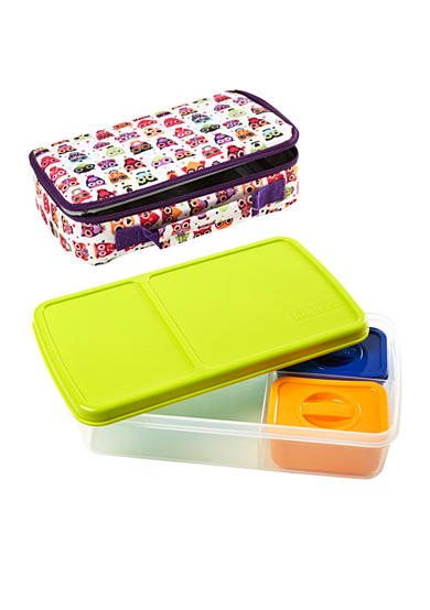 fit fresh bento lunch box kit with insulated bag and. Black Bedroom Furniture Sets. Home Design Ideas
