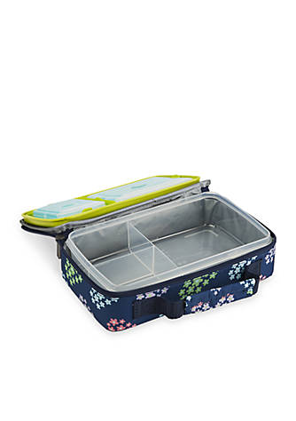fit fresh bento lunch box container set with insulated carrier and reusable ice packs belk. Black Bedroom Furniture Sets. Home Design Ideas